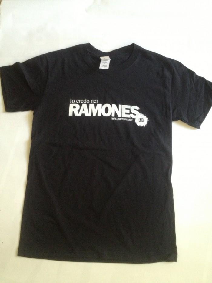 T-Shirt Io Credo nei Ramones