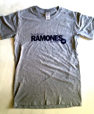 """t-shirt da uomo """"io credo nei ramones"""""""