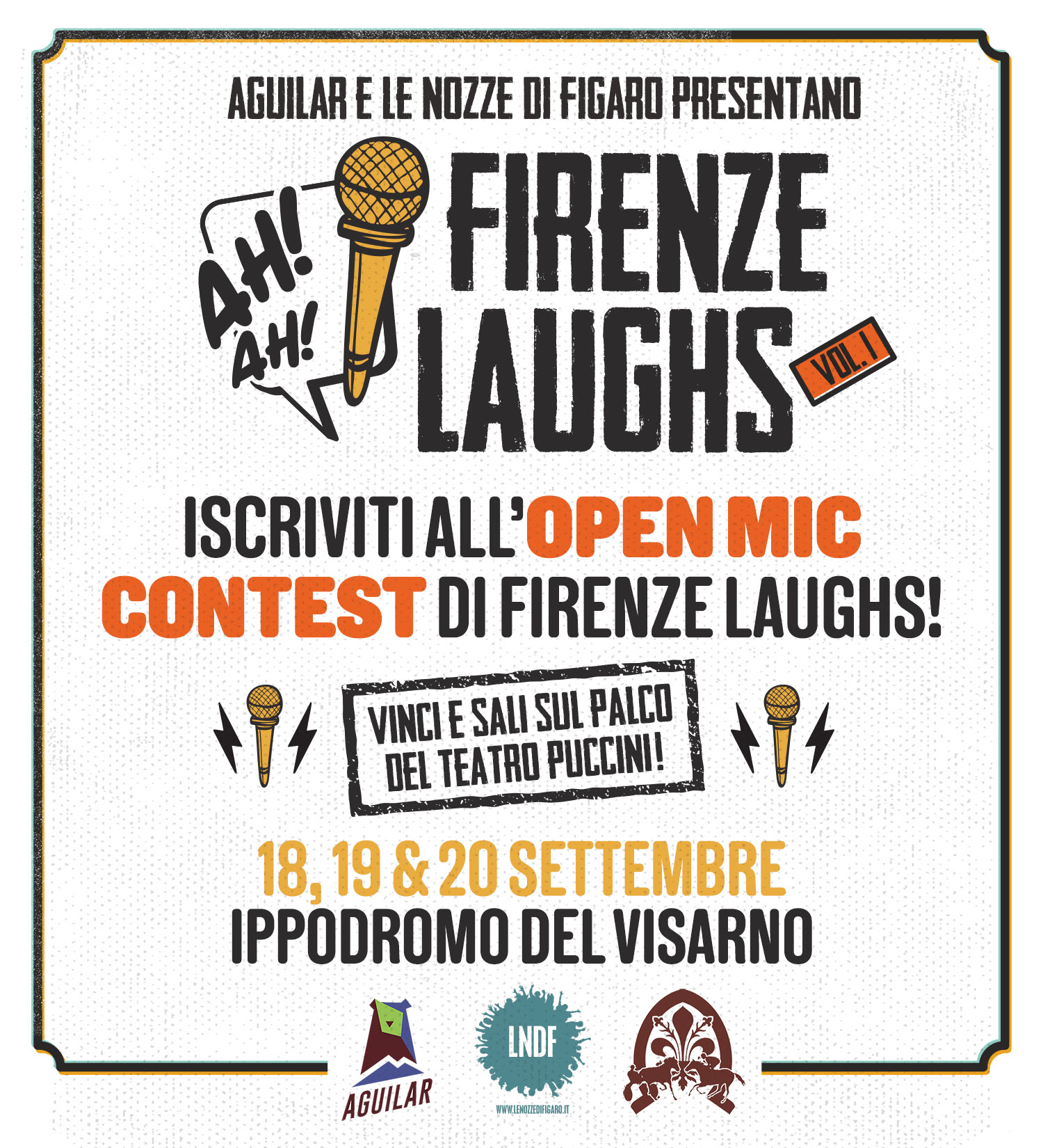 Firenze Laughs Open Mic Contest
